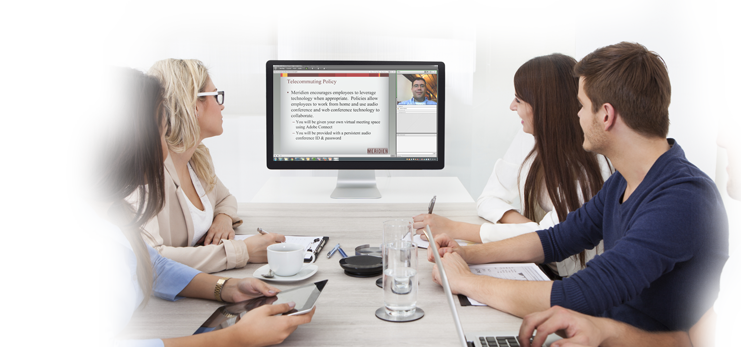 Connect Meetings enables organizations to go beyond screen sharing, meet, communicate and collaborate effectively