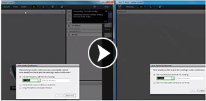 Managing your Integrated Audio Profile in Adobe Connect (Plays Video Tutorial)